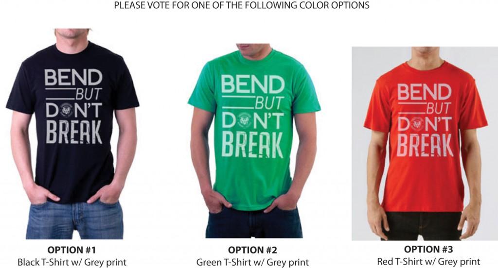 poll bend but don 39 t break t shirt colors printmatic net